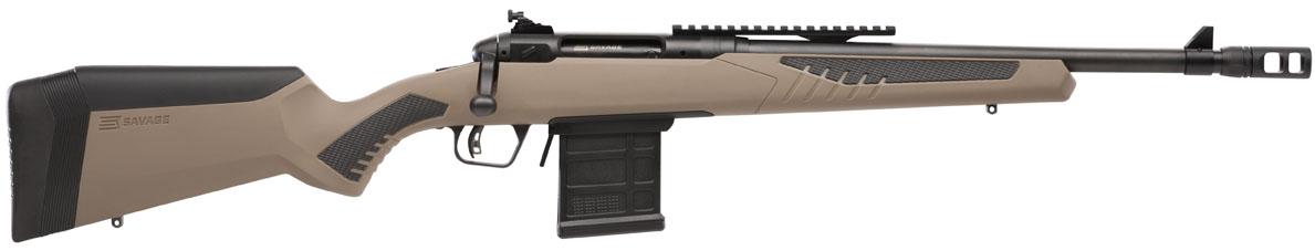 Rifle de cerrojo SAVAGE 110 Scout - 308 Win.